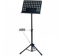 FX Orchestra Music Stand Black пюпитр оркестровый складной, подставка для нот с перфорацией, черная