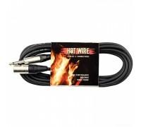 HOT WIRE Premium Line кабель микрофонный XLR (папа) - моноджек 6,3 мм, 10 м)