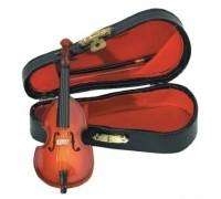 GEWA Miniature Instrument Bass сувенир контрабас, дерево, 11 см, с футляром и смычком