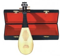 GEWA Miniature Instrument Lute сувенир лютня, дерево, 24 см, с футляром