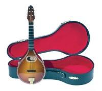 GEWA Miniature Instrument Mandolin сувенир мандолина, дерево, 20 см, с футляром