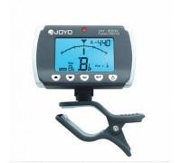 JOYO JMT-9006C тюнер/метроном-прищепка хроматический, темп 30-250