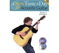 A NEW TUNE A DAY ACOUSTIC GUITAR BOOK 1 (DVD EDITION) GTR BK/CD/DVD