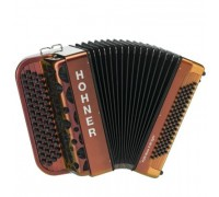 HOHNER Fun Nova II 80 Iight (A6015) red to gold - ученический баян 3/4, гриф C