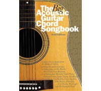 """""""THE BIG ACOUSTIC GUITAR CHORD SONGBOOK GOLD EDITION LC BOOK"""""""