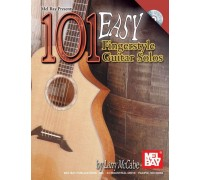 100 EASY FINGERSTYLE GUITAR SOLOS GTR BOOK/CD