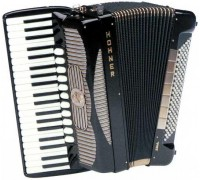 HOHNER Gola 414 Black (A1400) - полный концертный аккордеон