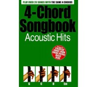4-CHORD SONGBOOK ACOUSTIC HITS GUITAR BOOK
