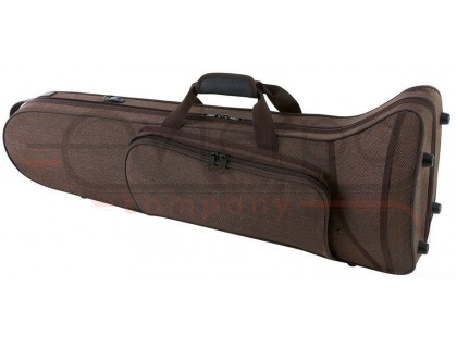 GEWA Compact Form Shaped Tenor Trombone Case Brown кофр-рюкзак для тенор-тромбона