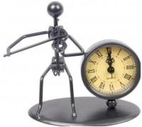 GEWA Sculpture Clock Violin Сувенирные часы Скрипач
