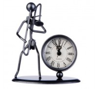 GEWA Sculpture Clock Trombone Сувенирные часы Тромбонист