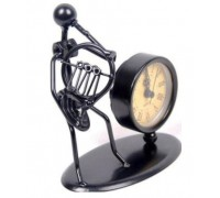 GEWA Sculpture Clock French Horn Сувенирные часы Валторнист