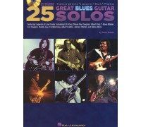 Dave Rubin: 25 Great Blues Guitar Solos - Transcriptions, Lessons, Bios And Photos