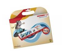 HOHNER Speedy Kids (K91386) - детская губная гармошка + книга-самоучитель с песнями (6 языков)