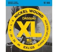 """D'ADDARIO EXL125 - Струны для электрогитары Даддарио"""