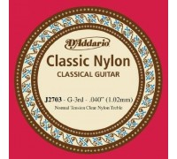 """""""D'ADDARIO J2703 - Одиночная струна для классической гитары Даддарио"""""""