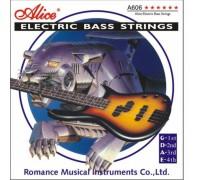 """""""ALICE A606 M - Струны для бас-гитары Элис"""""""