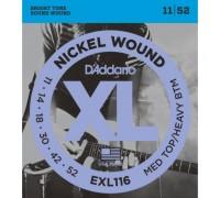 """D'ADDARIO EXL116 - Струны для электрогитары Даддарио"""