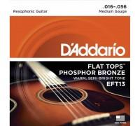 """""""D'ADDARIO EFT 13 - Струны для акустической гитары Даддарио"""""""