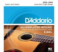 """""""D'ADDARIO EJ84 L - Струны для акустической гитары типа Selmer Даддарио"""""""