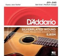 """""""D'ADDARIO EJ83 M - Струны для акустической гитары типа Selmer Даддарио"""""""