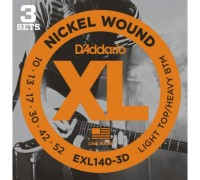 """D'ADDARIO EXL140 3D - Струны для электрогитары Даддарио"""