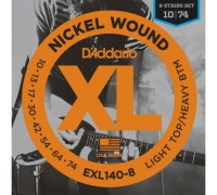 """D'ADDARIO EXL140 -8 - Струны для электрогитары Даддарио"""