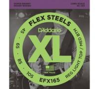 """D'ADDARIO EFX 165 - Струны для бас-гитары Даддарио"""