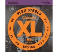 """D'ADDARIO EFX 160 - Струны для бас-гитары Даддарио"""