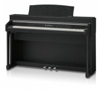 Kawai CA67B цифровое пианино/Цвет чёрный матовый/Деревянные клавиши