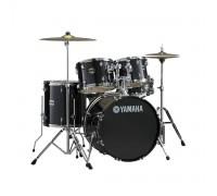 """YAMAHA GM0F52 BLACK - часть барабанной установки Gigmaker: том подвесной 12""""х9"""", малый барабан 14''х5,5''"""