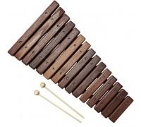 FLIGHT FX-15RB ШОКОЛАД - Ксилофон (15 нот), коричневый, ясень