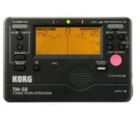 Korg TM-50BK Тюнер-метроном хроматический