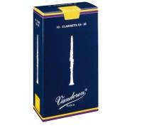 Vandoren CR-1025 (№ 2-1/2) Трости для кларнета Bb, серия Traditional