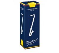Vandoren CR-1225 (№ 2-1/2) Трости для бас кларнета, серия Traditional