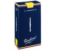 Vandoren CR-113 (№ 3) Трости для кларнета Eb, серия Traditional